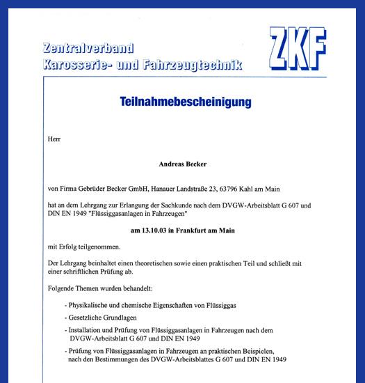 Becker-Kahl.de - Flüssiggas-TÜV